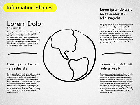 Information Shapes, Slide 11, 01513, Shapes — PoweredTemplate.com