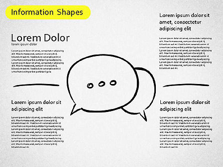 Information Shapes, Slide 4, 01513, Shapes — PoweredTemplate.com