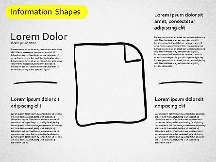 Information Shapes, Slide 5, 01513, Shapes — PoweredTemplate.com