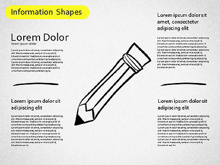 Information Shapes, Slide 7, 01513, Shapes — PoweredTemplate.com
