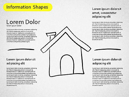 Information Shapes, Slide 8, 01513, Shapes — PoweredTemplate.com