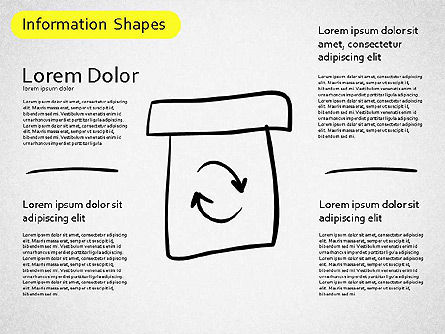 Information Shapes, Slide 9, 01513, Shapes — PoweredTemplate.com