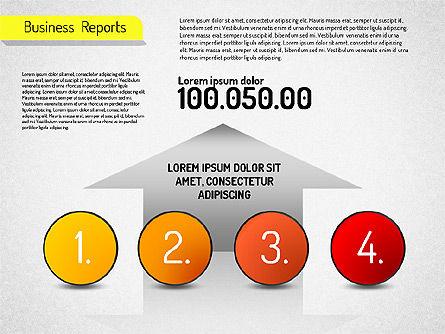 Business Reports, Slide 4, 01515, Business Models — PoweredTemplate.com