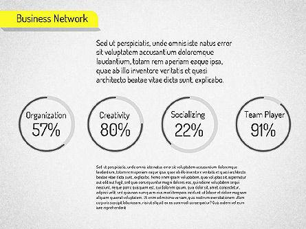 Business Network Diagram, Slide 12, 01518, Business Models — PoweredTemplate.com