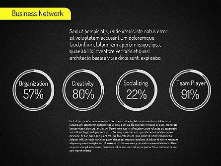 Business Network Diagram, Slide 16, 01518, Business Models — PoweredTemplate.com