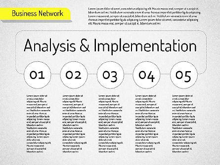 Business Network Diagram, Slide 7, 01518, Business Models — PoweredTemplate.com