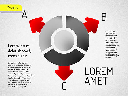 Core with Arrows Chart, Slide 4, 01521, Stage Diagrams — PoweredTemplate.com