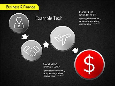 Business and Finance Processes, Slide 2, 01523, Business Models — PoweredTemplate.com