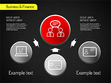 Business and Finance Processes, Slide 4, 01523, Business Models — PoweredTemplate.com