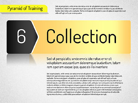 Pyramid of Training, Slide 12, 01525, Stage Diagrams — PoweredTemplate.com