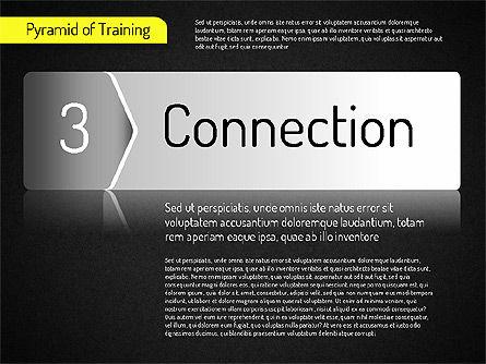 Pyramid of Training, Slide 16, 01525, Stage Diagrams — PoweredTemplate.com