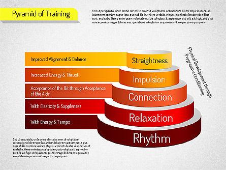 Pyramid of Training, Slide 5, 01525, Stage Diagrams — PoweredTemplate.com
