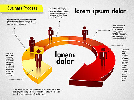 Process Diagrams: Business Process Arrows #01527