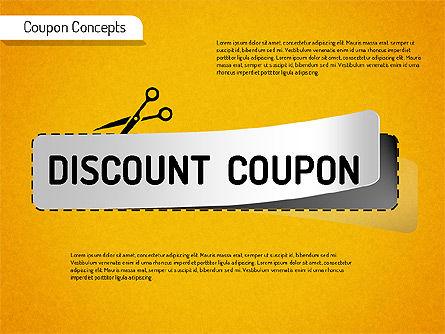 Coupon Concepts Shapes, Slide 2, 01531, Shapes — PoweredTemplate.com