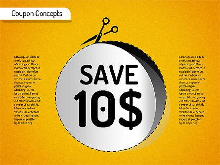 Coupon Concepts Shapes, Slide 3, 01531, Shapes — PoweredTemplate.com