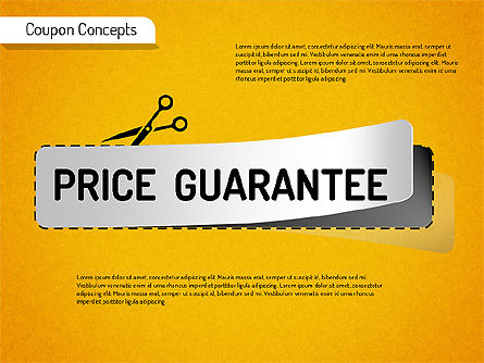 Coupon Concepts Shapes, Slide 4, 01531, Shapes — PoweredTemplate.com