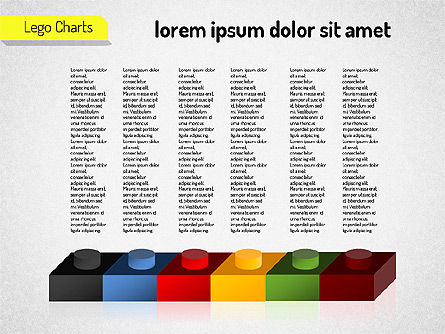 Lego Charts, Slide 11, 01532, Business Models — PoweredTemplate.com