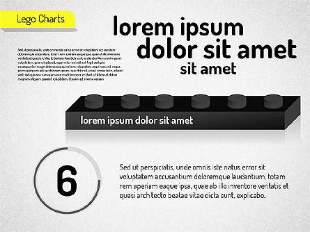 Lego Charts, Slide 12, 01532, Business Models — PoweredTemplate.com