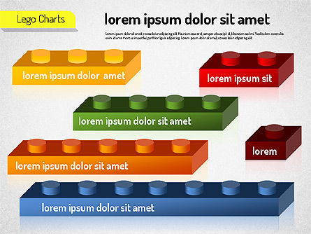 Lego Charts, Slide 3, 01532, Business Models — PoweredTemplate.com