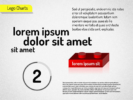 Lego Charts, Slide 4, 01532, Business Models — PoweredTemplate.com