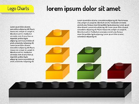 Lego Charts, Slide 5, 01532, Business Models — PoweredTemplate.com