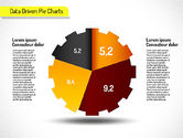 Creative Pie Charts (data driven)#6