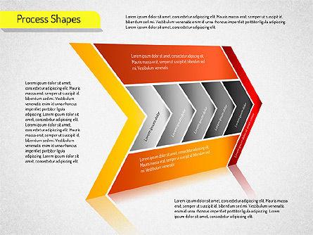 Process Arrows Charts, Slide 2, 01535, Organizational Charts — PoweredTemplate.com