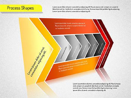 Process Arrows Charts, Slide 3, 01535, Organizational Charts — PoweredTemplate.com