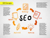 Shapes: SEO Process Shapes #01536