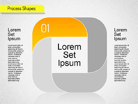 Mobius Stripe Stage Shapes, Slide 4, 01538, Stage Diagrams — PoweredTemplate.com