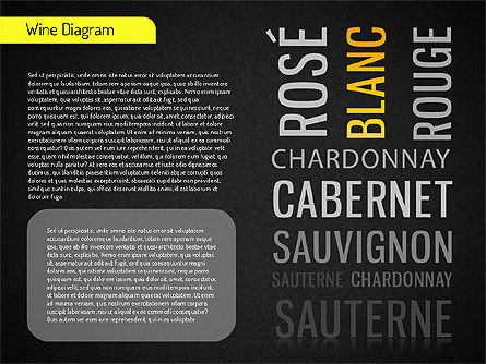 Wine Diagram, Slide 12, 01539, Shapes — PoweredTemplate.com