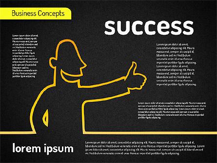 Business Characters, Slide 10, 01540, Business Models — PoweredTemplate.com
