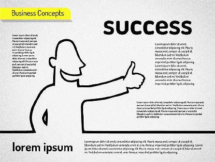 Business Characters, Slide 2, 01540, Business Models — PoweredTemplate.com