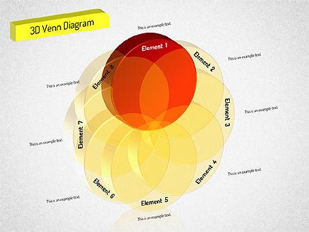 3D Set Diagram, Slide 2, 01541, Business Models — PoweredTemplate.com
