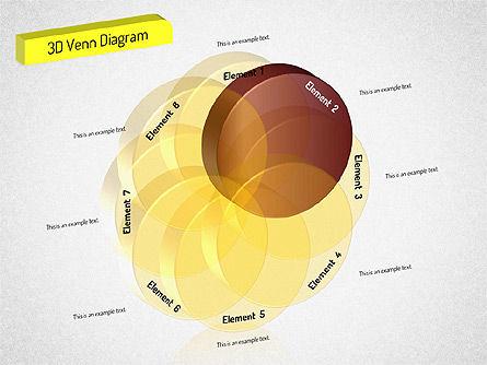 3D Set Diagram, Slide 3, 01541, Business Models — PoweredTemplate.com