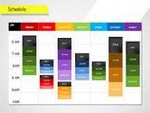 Timelines & Calendars: Schedule #01542