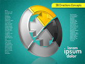 3D Directions Shapes#16