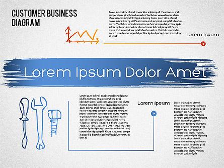 Customer Retention Diagram, Slide 6, 01546, Business Models — PoweredTemplate.com