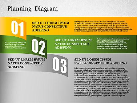 Planning Diagram, Slide 3, 01550, Business Models — PoweredTemplate.com