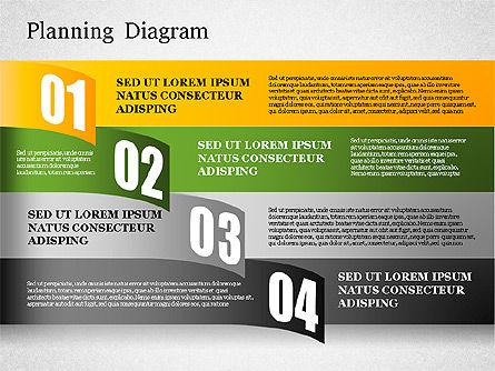 Planning Diagram, Slide 4, 01550, Business Models — PoweredTemplate.com