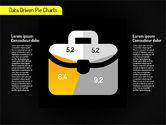 Creative Pie Diagrams (data driven)#15