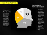 Creative Pie Diagrams (data driven)#9