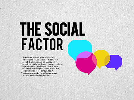Business Models: The Social Factor Infographic #01554