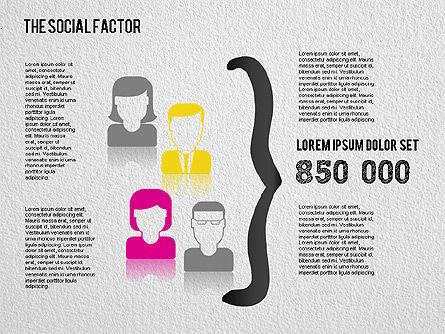 The Social Factor Infographic, Slide 3, 01554, Business Models — PoweredTemplate.com