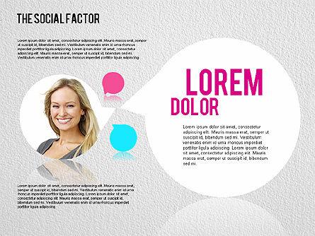 The Social Factor Infographic, Slide 4, 01554, Business Models — PoweredTemplate.com