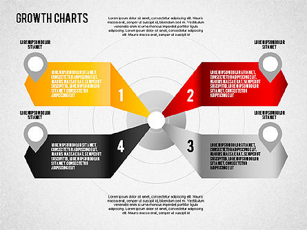 Grow Area Charts Concept, Slide 13, 01557, Business Models — PoweredTemplate.com