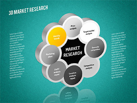 Market Research Diagram, Slide 10, 01559, Business Models — PoweredTemplate.com