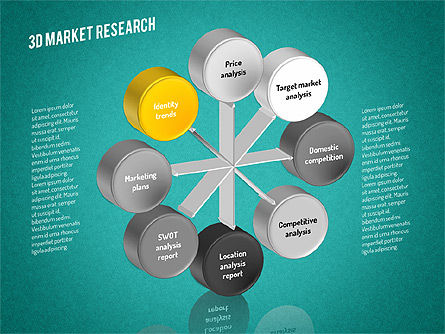 Market Research Diagram, Slide 11, 01559, Business Models — PoweredTemplate.com