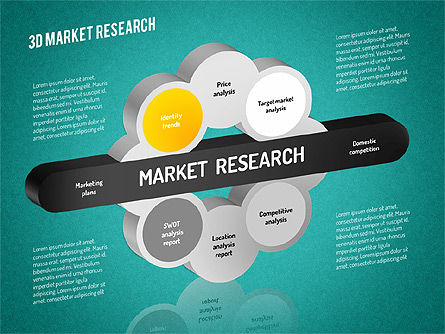 Market Research Diagram, Slide 12, 01559, Business Models — PoweredTemplate.com