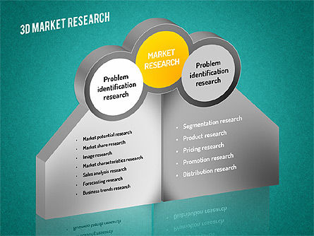Market Research Diagram, Slide 14, 01559, Business Models — PoweredTemplate.com